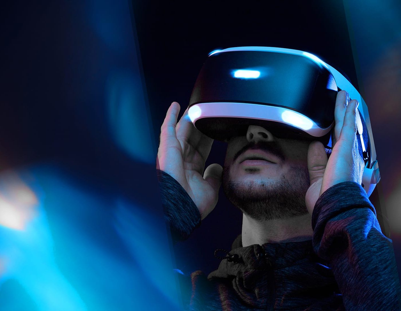 3T Transform technology accessed with a virtual reality headset